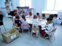 A l'Escola La Maquinista ja tenim el servei de Biblioteca a tota marxa!!!