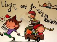 Ja ens podeu portar els llibres!!!