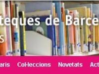 Nova Web de les Biblioteques de Barcelona